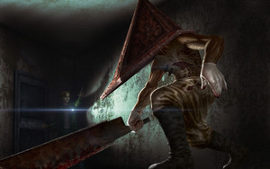 Preview wallpaper of Pyramid Head, Silent Hill, Horror