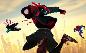 Preview wallpaper  <b>Movie</b>, Spider-Man, Into The Spider-Verse