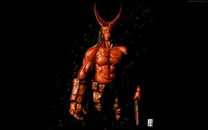 Preview wallpaper of Hellboy, David Harbour, Poster