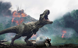 Смотреть обои Jurassic World Fallen Kingdom, International