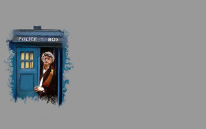 Смотреть обои Doctore Whe, Back To The Future, Art