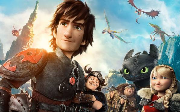 HD Wallpaper of Как приручить дракона 2, How To Train Your Dragon