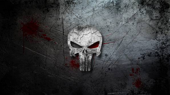 HD Wallpaper Каратель, The Punisher, череп
