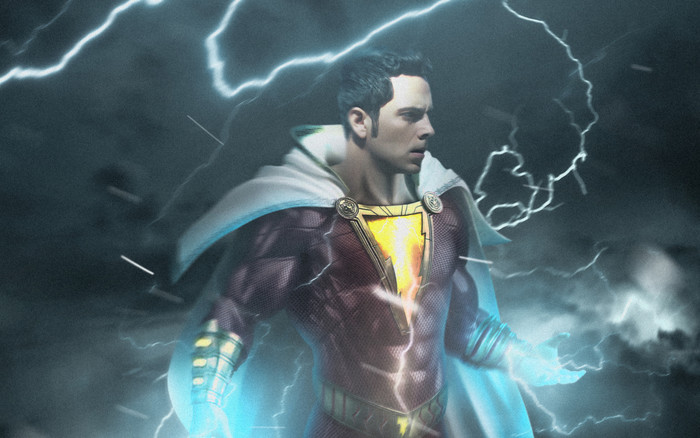 Wallpaper of Shazam, DC Comics, Zachary Levi background & HD image