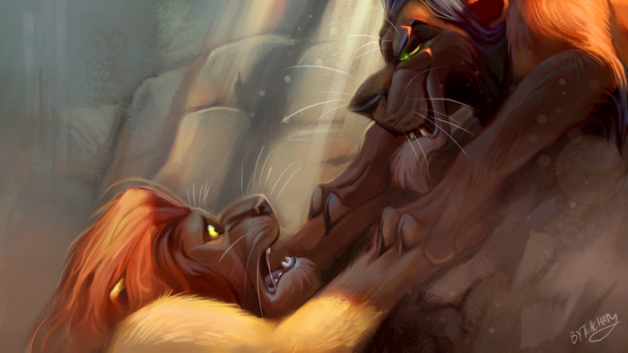 HD Wallpaper of The Lion King, Mufasa