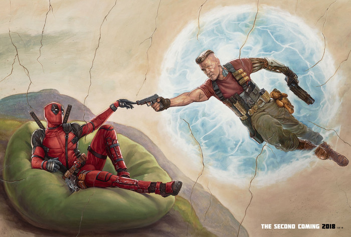 HD Wallpaper of DeadPool 2, Marvel, Fan-Art, Comics