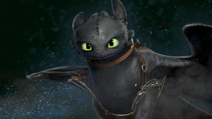 HD Wallpaper of Toothless, How to Train Your Dragon