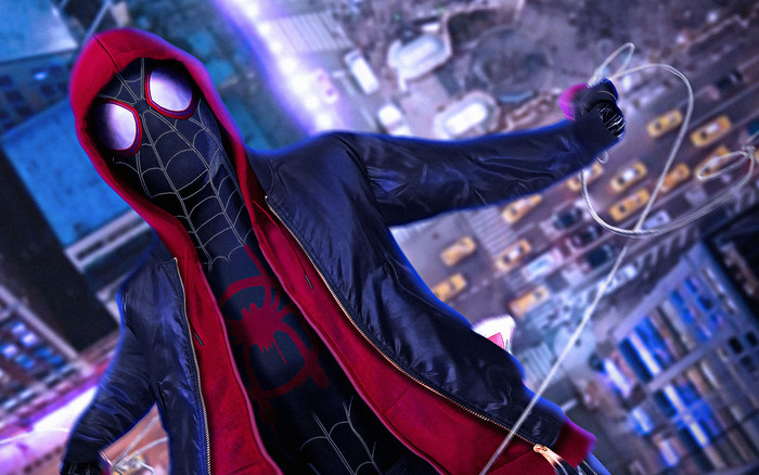 HD Wallpaper of Movie, Spider-Man, Into The Spider-Verse