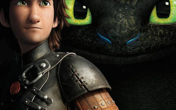 Обои How to Train Your Dragon 2, Иккинг, Беззубик