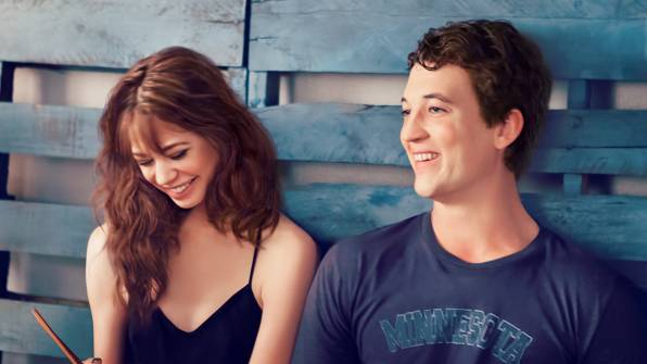 Обои two night stand, miles teller, analeigh tipton