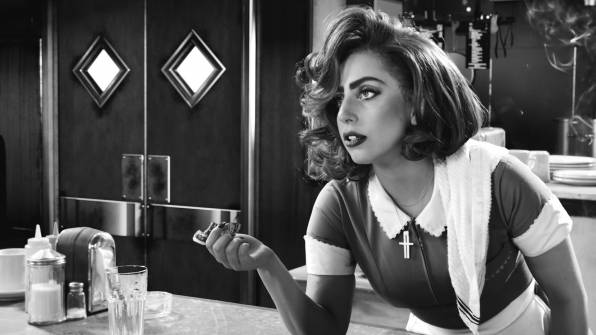 HD Wallpaper of Sin City:A Dame to Kill For, Lady GaGa, Bertha