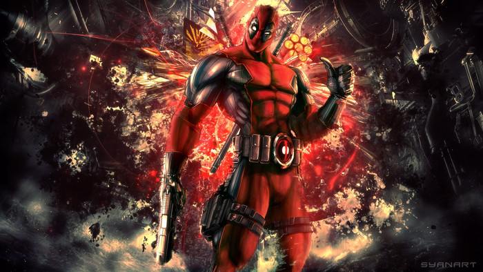 HD Wallpaper of Comics, Deadpool, Merc with a Mouth