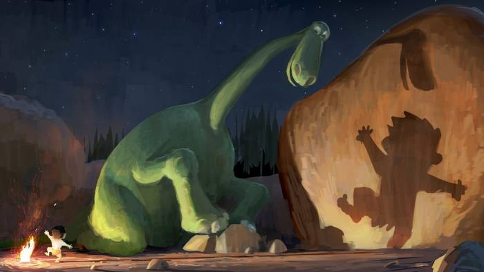 HD Wallpaper of The Good Dinosaur