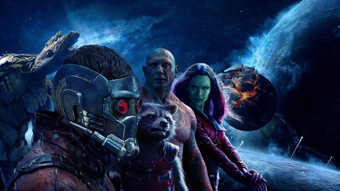 HD Wallpaper of Guardians of The Galaxy, Peter Qwill and others
