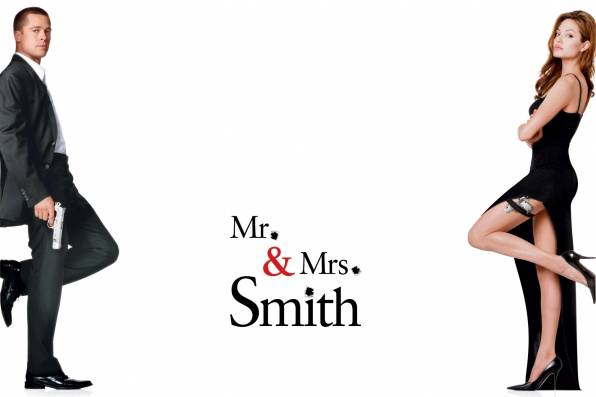 Обои Mr. & Mrs. Smith, Мистер и Миссис Смит