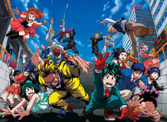 HD Wallpaper of Anime, All Hero, My Hero Academia
