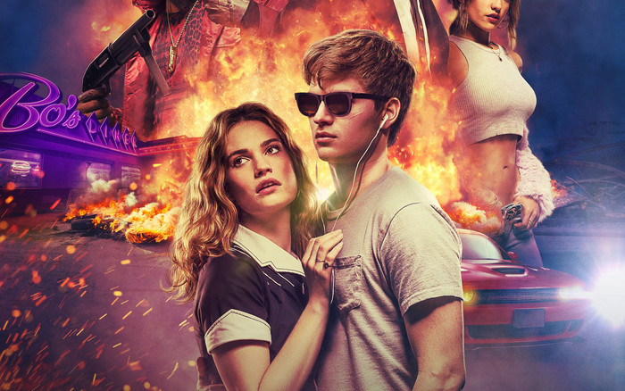 HD Wallpaper of Edgar Wright, Baby Driver, Poster