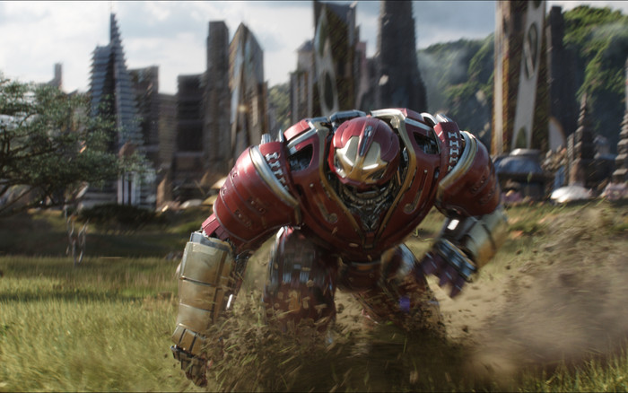 HD Wallpaper of Avengers Infinity War, Hulkbuster, Iron Man