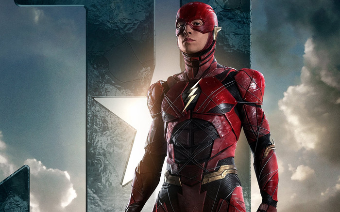 HD Wallpaper of Flash,League Justice, Grant Gustin