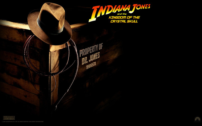 HD Wallpaper of Indiana Jones and the Kingdom of the Crystal Skull