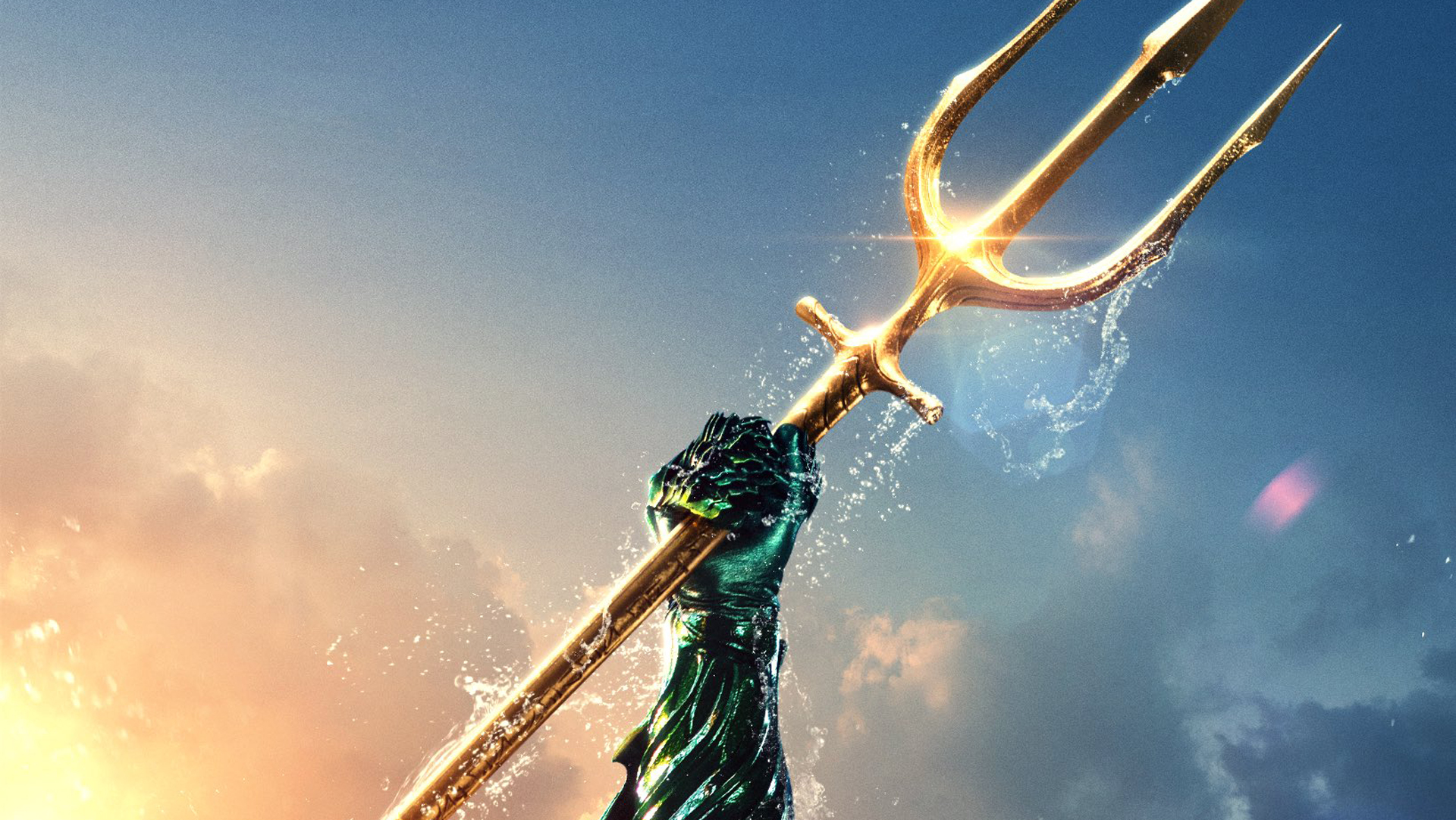 Aquaman Trident Wallpaper
