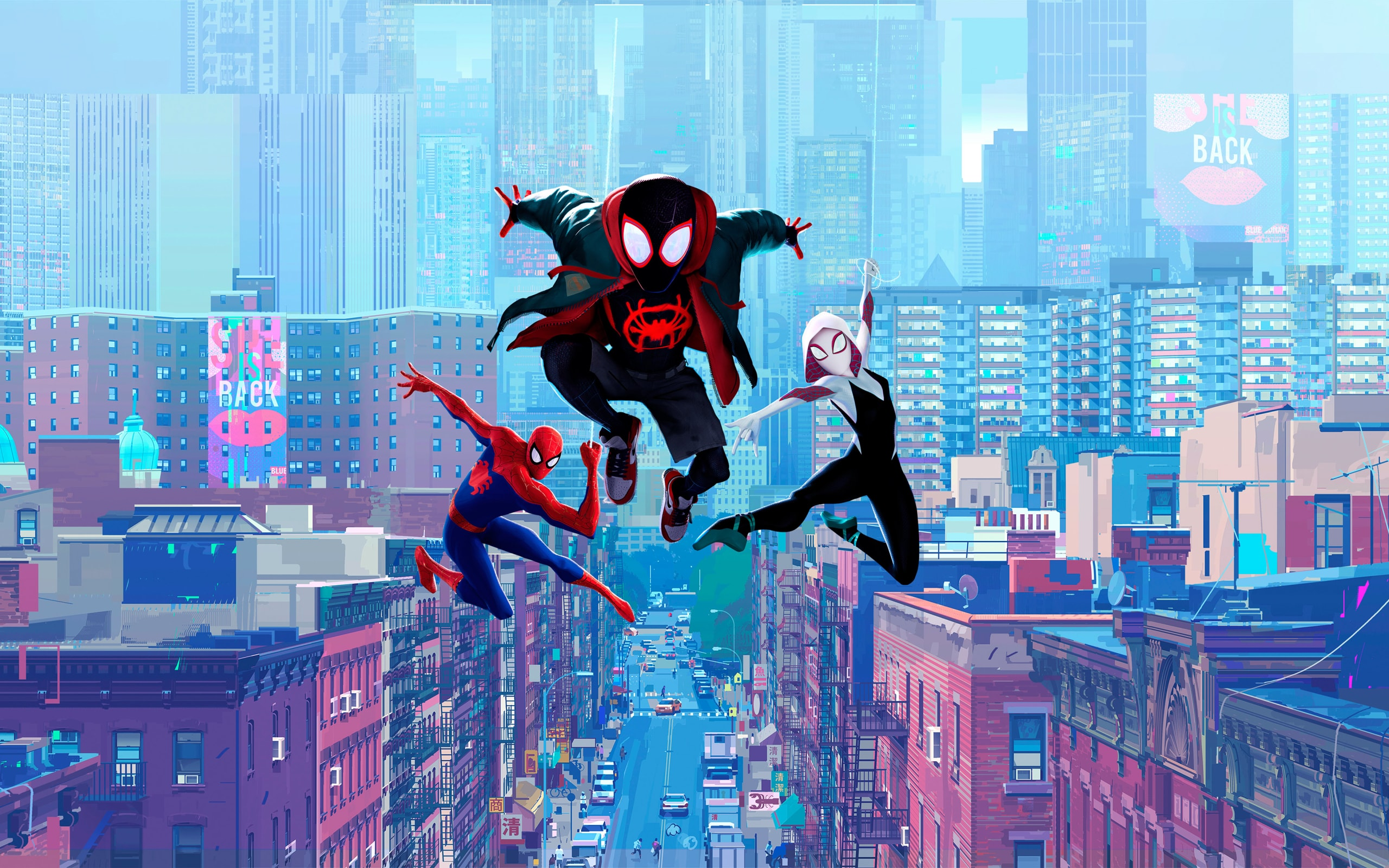 Wallpaper Of Spider Man Spider Man Into The Spider Verse