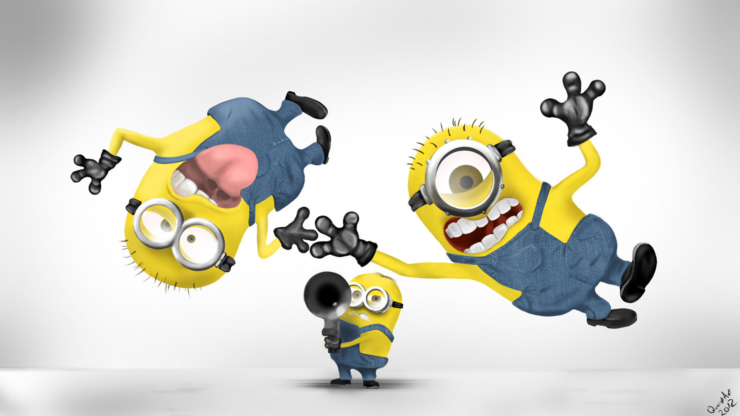 despicable me wallpaper minions 64 images - HD 1440×855