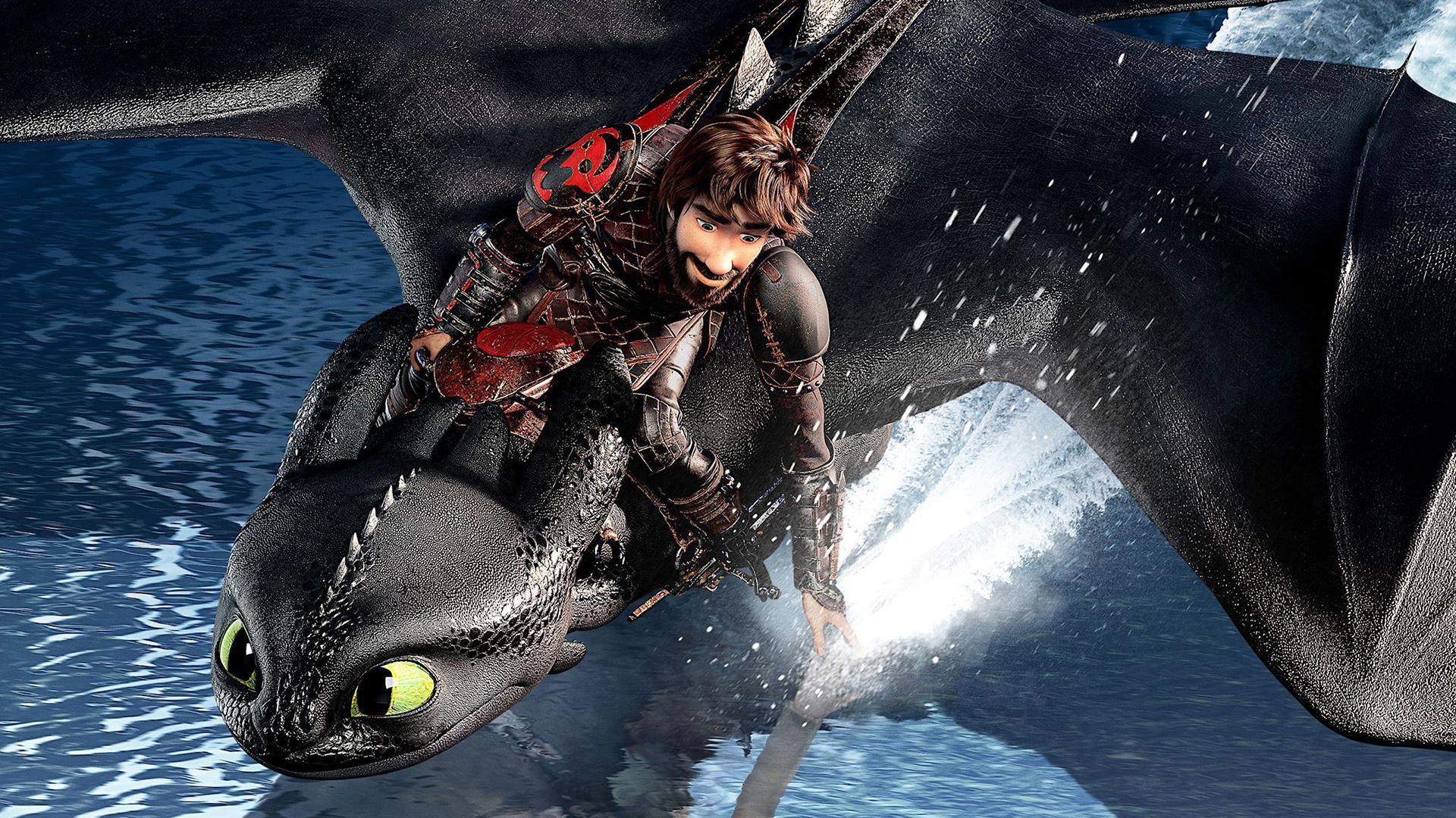 HD Wallpaper Hiccup, How to Train Your Dragon 3, Toothless