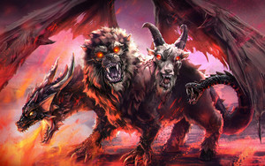 Preview wallpaper of Chimera, Creature
