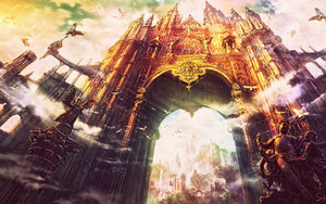 Preview wallpaper of Castle, World, Gate
