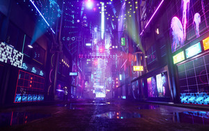 Preview wallpaper of Sci Fi, Cyberpunk, Street
