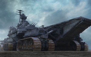 Preview wallpaper of Aircraft, Carrier, Futuristic, Vehicle