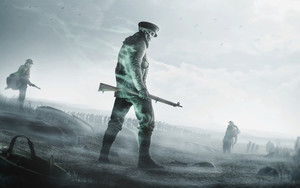 Preview wallpaper  <b>Fantasy</b>, Rifle, Soldier, Undead, Warrior