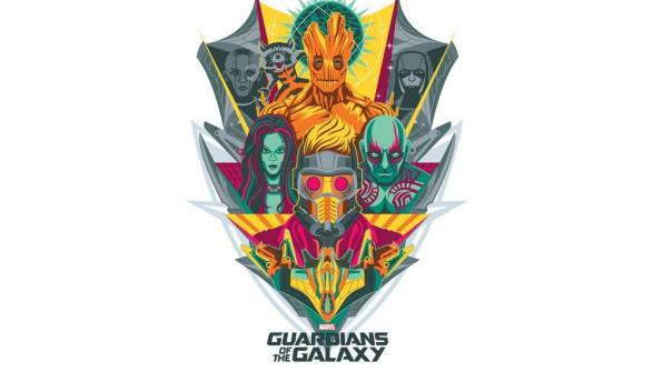 Превью обои: guardians of the galaxy, эмблема, marvel