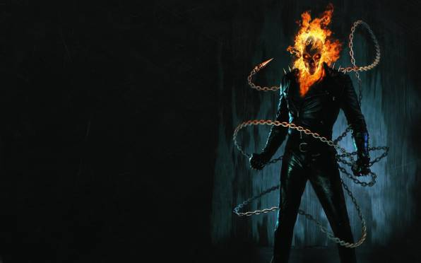 HD Wallpaper of Ghost Rider, Chain, Poster