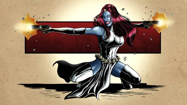 Обои мистик, mystique, marvel, comics, X-Men