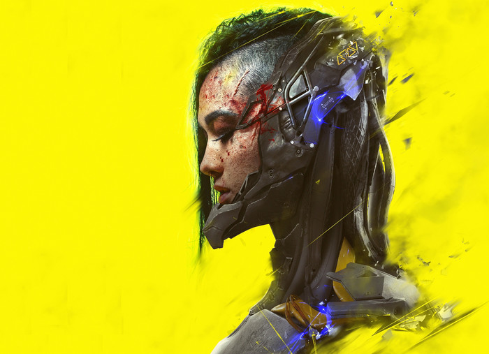 Wallpaper of Cyberpunk, Cyborg, Face, Girl background & HD image