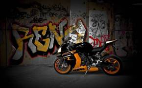 Preview wallpaper of KTM rc8 r