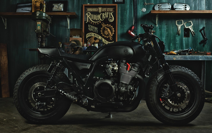 Wallpaper of Motorcycle, Vehicle, Yamaha, Yard Built XJR1300 background & HD image