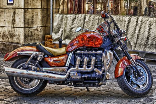 HD Wallpaper Triumph Rocket III стритфайтер