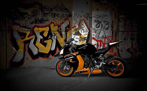 HD Wallpaper of KTM rc8 r