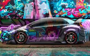 Preview wallpaper of Tony Kokhan, Honda Civic, Style