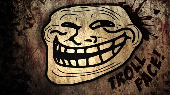 HD Wallpaper of Troll Face, Smile