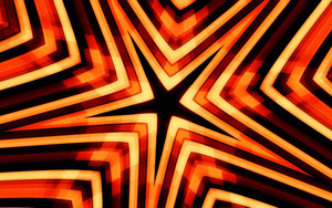 Смотреть обои Abstract, Artistic, Kaleidoscope, Star