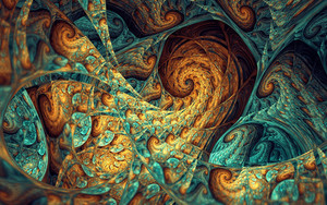 Preview wallpaper color, abstract, fractal, art