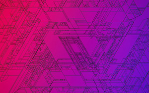 Preview wallpaper Abstract, Artistic, Triangles, Color