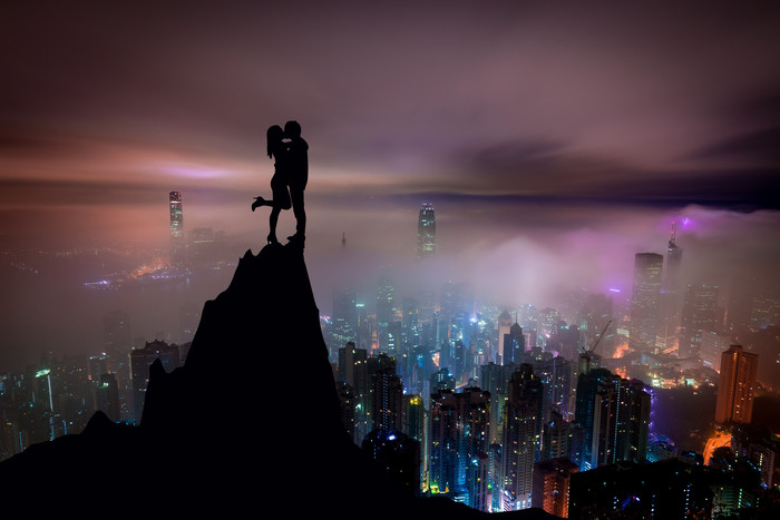 HD Wallpaper High Love, Cityscape, Night