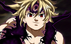Смотреть обои Meliodas, The Seven Deadly Sins, Demon, Anime