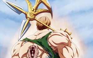 Смотреть обои Escanor, The Seven Deadly Sins, Anime, Art