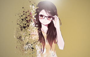 Preview wallpaper  <b>Anime</b>, Girl, Brunette